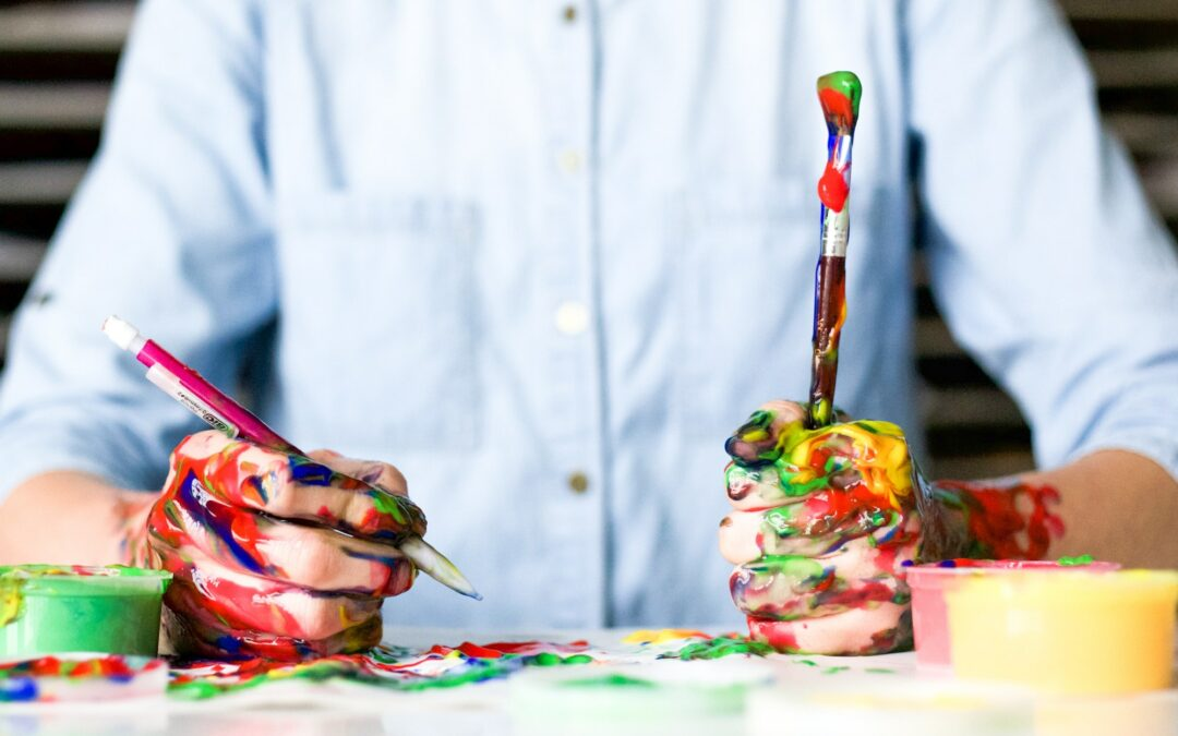 learn business benefits from painting even if it is messy